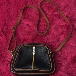 Valentina black crossbody bag
